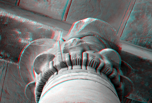 Column temple of Taffeh RMO 3D