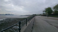 Liverpool from Vale Park promenade gates, New Brighton (16th May 13) (GreekVicar) Tags: liverpool river promenade newbrighton rivermersey
