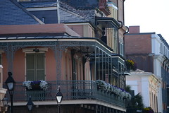 DSC_4316 (~BJG~) Tags: city flowers vacation kids louisiana neworleans frenchquarter porches 2ndlevel