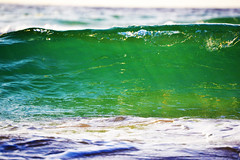 (Ivan B.R.) Tags: ocean light sea sky sun sunlight color green beach water beauty colorful shine miami salt miamibeach