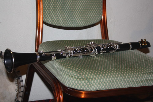 Clarinets [Single Reed Instruments with a Cylindrical Bore and Fingerholes] 04 - Clarinet (of Haruna Komatsu)