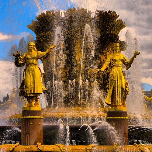 #фонтандружбынародов #фонтан #ввц #вднх #москва ©  reloni