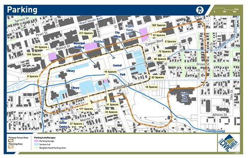 Photo - Area Parking Map