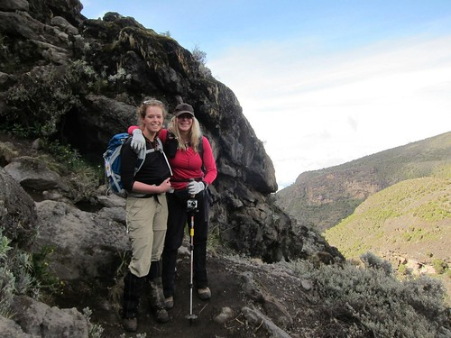 Kelsey and Vanessa in the Barranco Valley