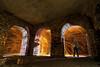 Arches de consolidation et artifices (flallier) Tags: paris underground arches limestone z catacombs quarry souterrain paille catacombes calcaire valdegrâce voûtes carrières souterraines consolidations pailledefer