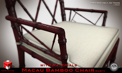 """  MESHWORX   - """"Macau Bamboo Collection"""" Tables and Chairs [ Ruby ] exclusively at FaMeshed through August 2013 (MESHWORX [ by Loz Hyde]) Tags: vintage industrial chairs maya mesh bamboo secondlife decorating tables artdeco interiordesign builder midcentury homegarden urbanchic comtemporary modernclassic virtualhome meshlights meshchair virtualfurniture lozhyde meshworx meshsofa meshcreations fameshed meshbuild meshbuilding meshbuilder mesh3dmodeling meshlamps meshcreator secondlife3dmodeling contempraryclassic secondlifemeshbuilder meshbamboo"""