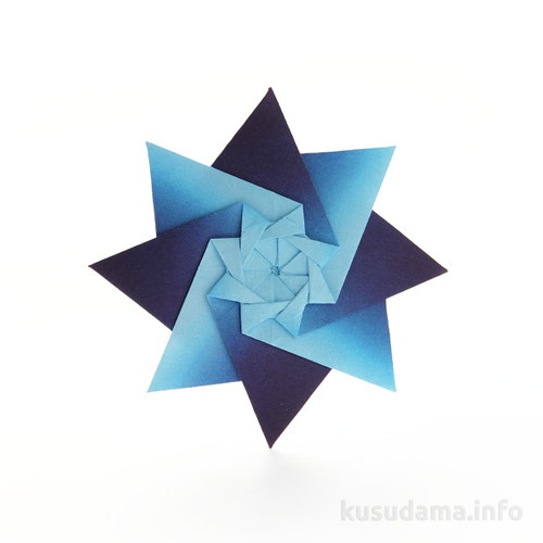 Origami Star - 4 Point - YouTube | 500x500