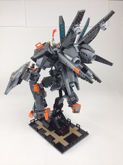 BFLM big f-ing Lego mecha (juecifer) Tags: robot big lego mecha mech