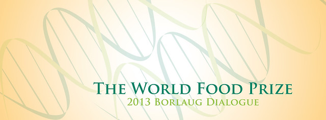 Thumbnail for World Food Prize 2013 Borlaug Dialogue Recap