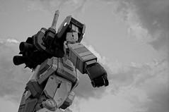 cry for a shadow (takorii) Tags: anime art japan japanese tokyo robot military animation odaiba gundam