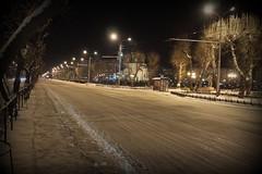 Abakan, Russia (Fedor Odegov) Tags: road winter night russia siberia россия зима abakan сибирь khakassia хакасия абакан