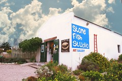 studio & art in Paternoster (WITHIN the FRAME Photography(4 Million views tha) Tags: art sign studio southafrica rustic entrance culture doorway advert westcoast westerncape paternoster