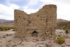 Sajama23 (Marisela Murcia) Tags: bolivia sajama chulpas nationalparksajamaaltiplanobolivianoculturaprehispánicacarangas chullpaspolicromas