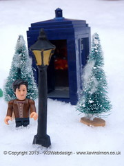 Doctor who and tardis in Narnia