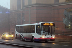 First Glasgow - X511 HLR (41775) (MSE062) Tags: bus london scotland glasgow capital first marshall single decker hlr 41775 x511 x511hlr
