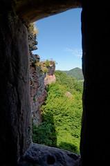 Chteau d'Altdahn - Rhnanie-Palatinat (Vaxjo) Tags: castle germany deutschland ruins allemagne chteau castillo burg castelli ruinen dahn rheinlandpfalz ruines altdahn rhnaniepalatinat