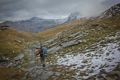 Late autumn shade of the Mont Blanc (Steve Behaeghel) Tags: france alps chamonix montblanc lacblanc aguillesrouges