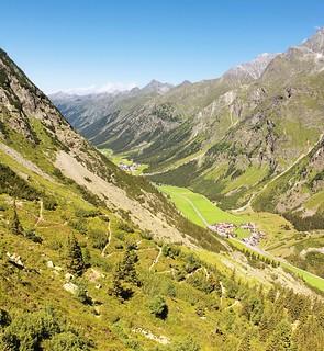 Our Hirschtal trail back to Mandarfen