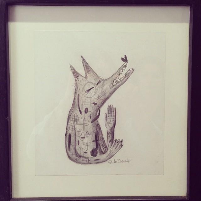 """André Coronado • """"Colectiva de Fin de Año"""" #art #arte #artinlima #arteenlima #gallery #galeria #brunogallery #muestra #artist #artista #pintura #painting"""