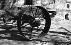 lorton brick cart (ANC'N'VA) Tags: brick film wagon 50mm rust pentax kodak trix prison va lorton