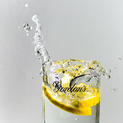 21/365 When Life Gives You Lemons............ (Suggsy69) Tags: motion glass lemon nikon drink action 365 splash day21 gordons 21365 365project d5200 3652014 365the2014edition 21012014