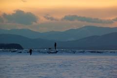Ice Walk (sweater_king) Tags: frozen lakechamplain burlingtonvt