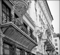 Budapest balconies (elinor04 thanks for 24,000,000+ views!) Tags: city building architecture budapest inner architect nay neobaroque 1894 nayrezs