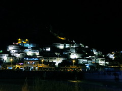 Berat by night