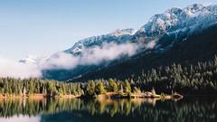 Maybe Lately (John Westrock) Tags: dualiso mountains snow landscape bluesky trees reflection goldcreekpond pacificnorthwest canoneos5dmarkiii sigma35mmf14dghsmart nature outdoors scenic johnwestrock pwlandscape washington