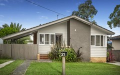 21 & 21a Gasnier Road, Barrack Heights NSW