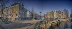 panorama keizergracht (Peter Bartelings AKA PeBee) Tags: netherlands amsterdam keizersgracht looiersgracht