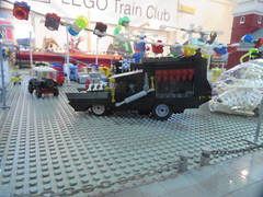 MOAH Winter Show 2014-2015 (184) (Last pass) (origamiguy1971) Tags: layout town lego mosaic spiderman trains superman batman palo alto ghostbusters moc walle moah baylug esseltine origamiguy origamiguy1971