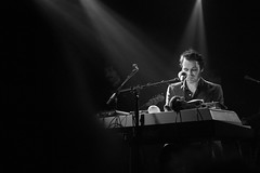 Gaz Coombes (Cathy G) Tags: bw music canon live livemusic oxford gazcoombes canon7d canon40mm o2academyoxford