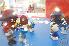 Toy Fair 2015 Schleich Smurfs 03 (IdleHandsBlog) Tags: toys smurfs cartoons collectibles schleich uktoyfair2015