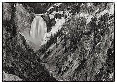 Wyoming in Ansel Adams Style #1 (Ansgar Hillebrand) Tags: usa landscape landscapes blackwhite yellowstonenationalpark yellowstone wyoming landschaften yellowstonenp landscapephotography usanordwest usa2014