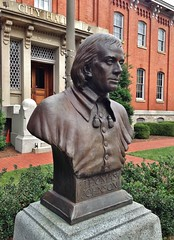 Thomas Johnson (ArtFan70) Tags: sculpture usa art america md unitedstates cityhall politics johnson maryland bust governor judge politician law lawyer attorney supremecourt frederick supremecourtjustice thomasjohnson continentalcongress urner unitedstatessupremecourt frederickcityhall governorjohnson governorthomasjohnson josephurner