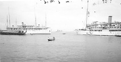 Excursion to Tandjong Priok in the Dutch East Indies on March 2nd 1936 (Karin Riper ( 24 April 2015)) Tags: old vintage indonesia boat thirties asia indie past oud indonesie oude excursion dutcheastindies nederlandschindie tandjongpriok karinriper
