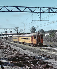 CSS&SB, 59th St., Chicago, April 28, 1977 (railfan 44) Tags: chicago bend south shore interurban