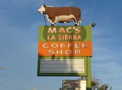 MAC'S LA SIERRA COFFEE SHOP ALBUQUERQUE NEW MEXICO ROUTE 66 (3) (ussiwojima) Tags: newmexico sign advertising restaurant route66 neon albuquerque coffeeshop macs lasierra macscoffeeshop