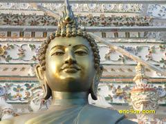 Thailand 2015 Wat Arun (109) (Eric Lon) Tags: tourism river temple bangkok culture buddhism visit monastery wat monastere fleuve bouddhiste ericlon thailande2015