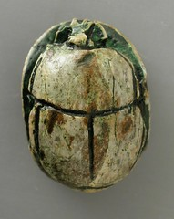 ... Scarab With Royal Names Of Seti I And The Deified King Thutmose III  LACMA M. ...
