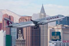 Qatar Airways (Qatar Amiri Flight) Airbus A340-300 A7-AAH (jbp274) Tags: las airport airplanes airbus vip qr klas a340 mccarran qatar qatarairways qataramiriflight
