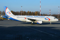 Ural Airlines, VQ-BCY, Airbus A320-214 (Anna Zvereva) Tags: plane airport aviation airbus boeing spotting dme domodedovo  uudd