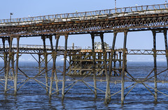 Derelict (CarolynEaton) Tags: pier derelict westonsupermare birnbeck
