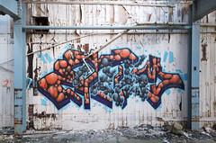RotaOne_Rotaism (tombomb20) Tags: street wood streetart art abandoned typography one graffiti three 3d peeling paint factory panel decay pipes pipe leeds spray drain sphere works aim graff trans peel dye derelict pennine nomads ue rota urbex dimensional 2014 panelling 2015 tpn rotaone tombomb20 rotaism