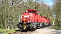 DBC 261 038 met 2 andere Gravita's (twenterail) Tags: eisenbahn zug trein spoorwegen dbc dbcargo gravita voith diesellocomotief