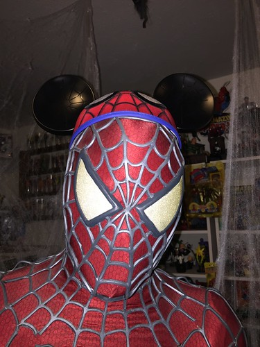 "Spider-Man with Mickey Ears • <a style=""font-size:0.8em;"" href=""http://www.flickr.com/photos/28558260@N04/26485796994/"" target=""_blank"">View on Flickr</a>"