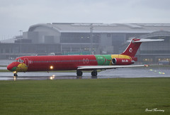 Danish Air Transport MD-83 OY-RUE (birrlad) Tags: ireland dublin cloud wet rain weather airplane airport md taxi aircraft aviation air airplanes transport international airline danish dat airways douglas airlines departure takeoff runway dub airliner billund departing mcdonnell taxiway md83 oyrue dx2052