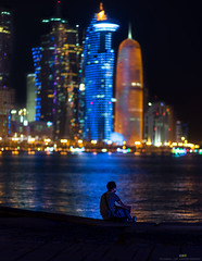 Being Alone... Look at the sky. We are not alone. The whole universe is friendly to us and conspires only to give the best to those who dream and work.-- A. P. J. Abdul Kalam (AAR PHOTOGRAPHY) Tags: nikon alone doha qatar beingalone nikon85mm14 nikond810 doha2016 lifeinqatar seemycity lifeindoha