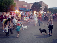 Clarkdale Block Party, May 27 (EllenJo) Tags: arizona mainstreet pentax az event blockparty mytown fridaynight streetparty verdevalley 2016 may27 smalltownlife clarkdalearizona 86324 ellenjo ellenjoroberts summerinaz may2016 pentaxqs1